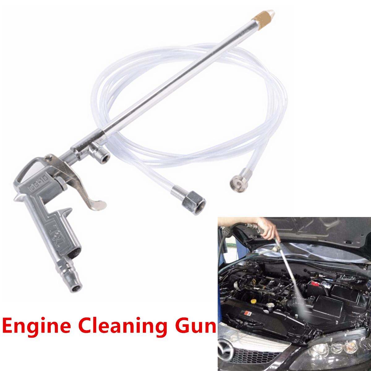 Högtrycksmotor Autos Luftmotorrengöringsrör Pistolrengöringspistol