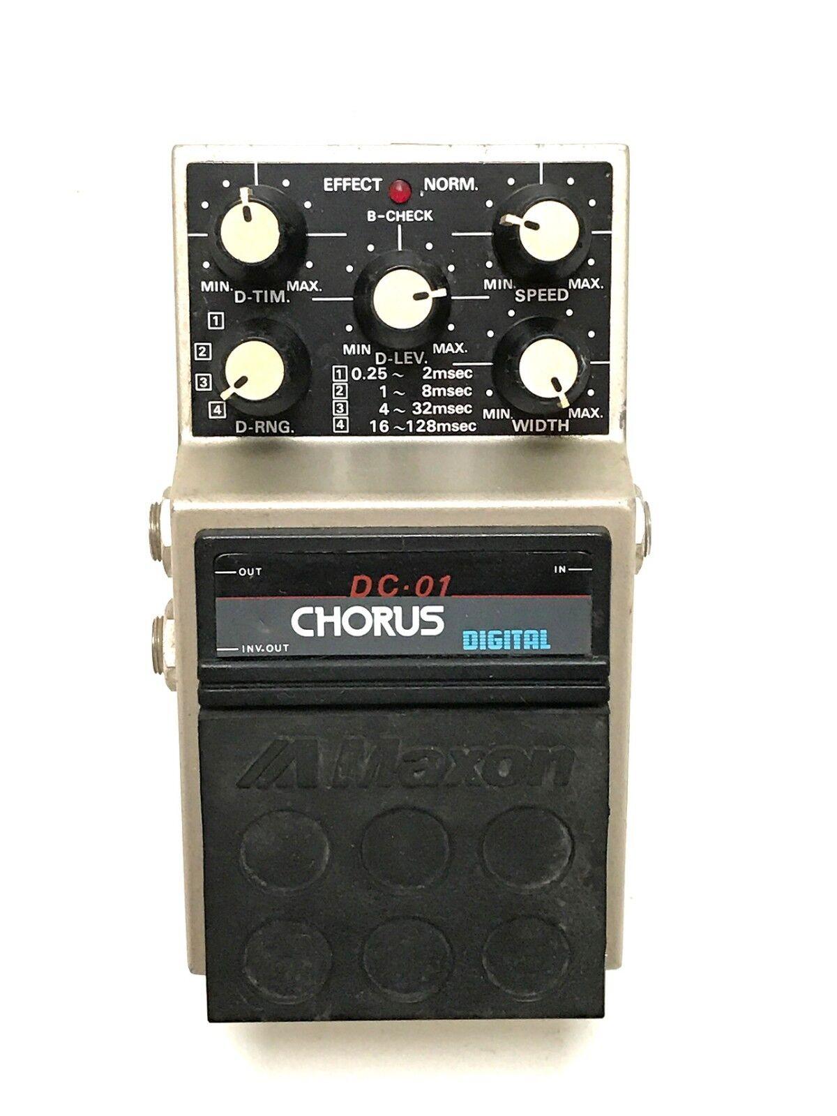 Maxon DC-01 Digital Chorus Made In Japan, 1980's