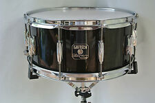 """GRETSCH 14"""" CATALINA CLUB TRANSLUCENT EBONY SNARE DRUM for YOUR DRUM SET! #V79"""