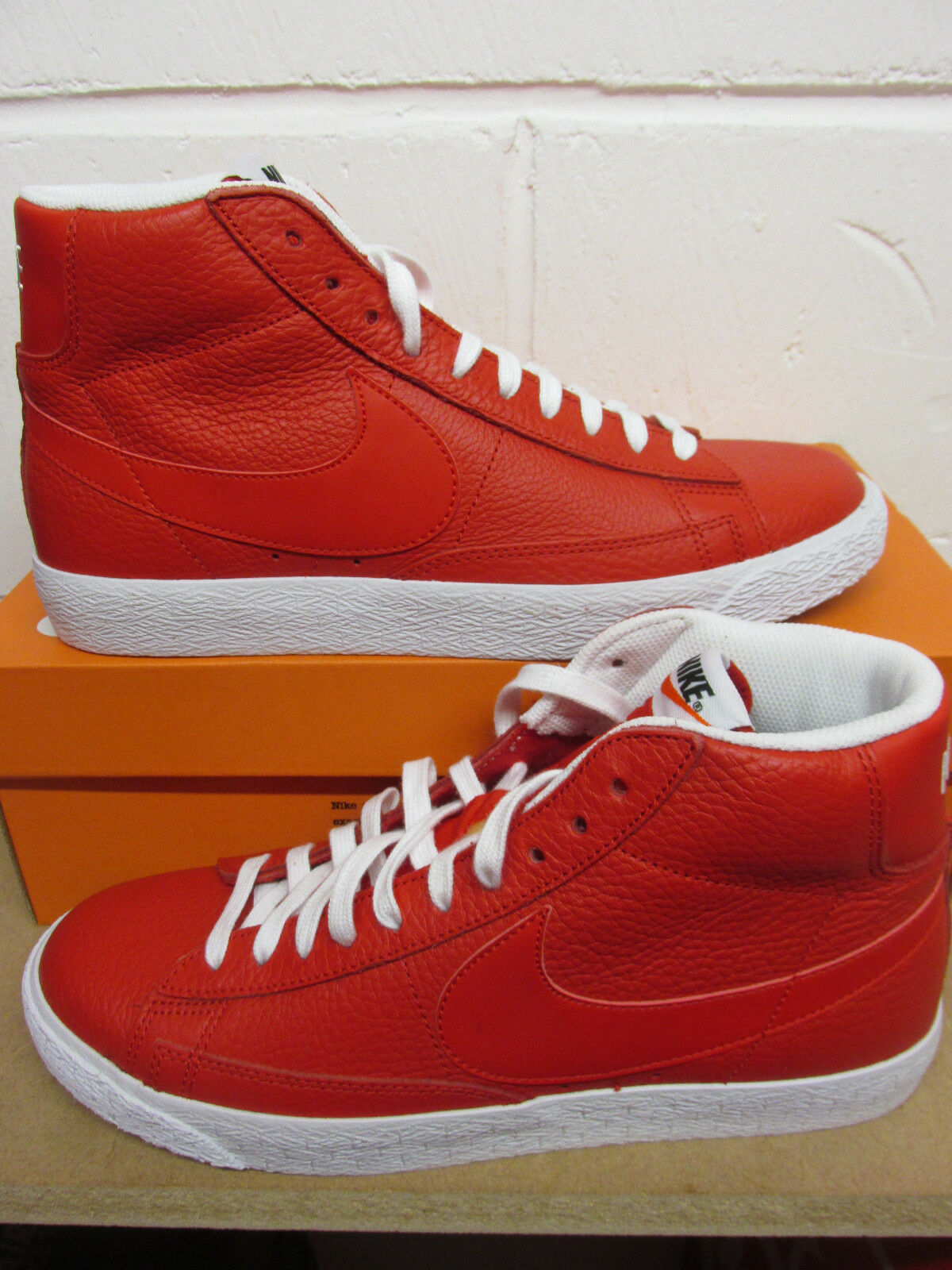 Nike blazer mid PRM mens hi top trainers 429988 604 sneakers shoes