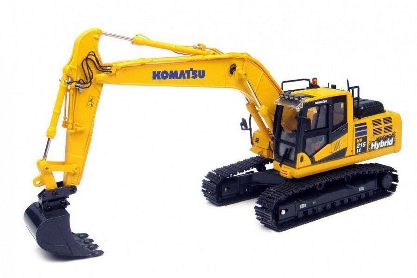 UH Universal Hobbies 1 50 Komatsu HB215LC-2 Excavator DieCast Model UH8095