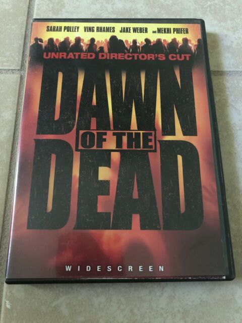 Dawn of the Dead (DVD, 2004, Unrated Directors Cut