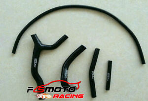 Silicone-Radiator-Hose-Y-KIT-FOR-SUZUKI-RM-125-RM125-1992-1995-1993-1994-black