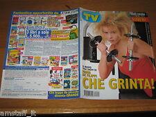 TV SORRISI E CANZONI=1998/4=LEONARDO DI CAPRIO=MARIA DE FILIPPI=MICHAEL BOLTON