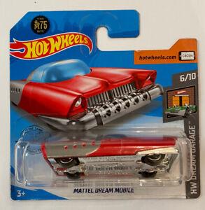 2020-Hotwheels-Mattel-Dream-Mobile-Vermelho-Perfeito-Moc