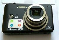 "GE Q1455 14.1MP 5x Optical Zoom 3"" LCD Digital Camera"