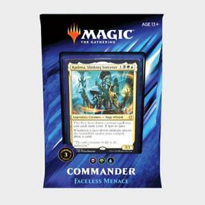 FACELESS MENACE MTG Commander 2019 Morphs Sealed Magic EDH Deck