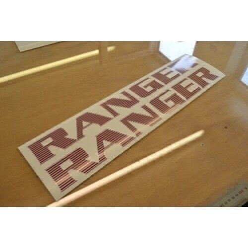 Bailey ranger - - ranger (style 2) - caravane toit nom autocollant décalque graphique-paire 508914