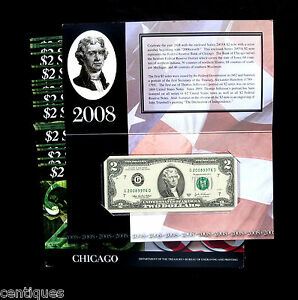 26-CHICAGO-2-BEP-Notes-Consecutive-HIGH-SERIAL-NUMBERS-2008-039-9951-2008-039-9976