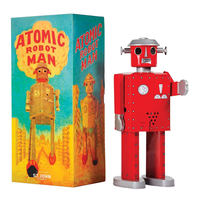 Saint John Tin Toys Gigante ATOMIC ROBOT ROSSO SJ020010