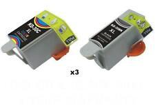 6 PK Comp For Kodak 30 XL 30XL Ink Cartridge ESP Office 2170 C310 Printer