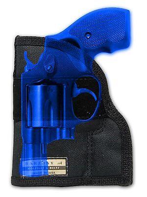 "New Barsony Concealment Pocket Holster Ruger Rossi Kimber 2"" Snub Nose 38 357"