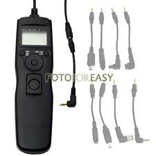 Timer Remote Shutter Cord for Pentax K10D K20D K200D DL