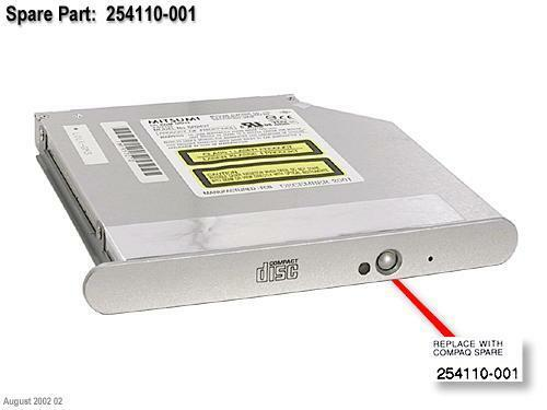 USB 2.0 External CD//DVD Drive for Compaq presario v3175tu