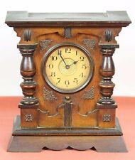 TABLE CLOCK IN WOOD. PARIS MACHINES WITH MUSIC BOX. CENTURY XIX-XX.