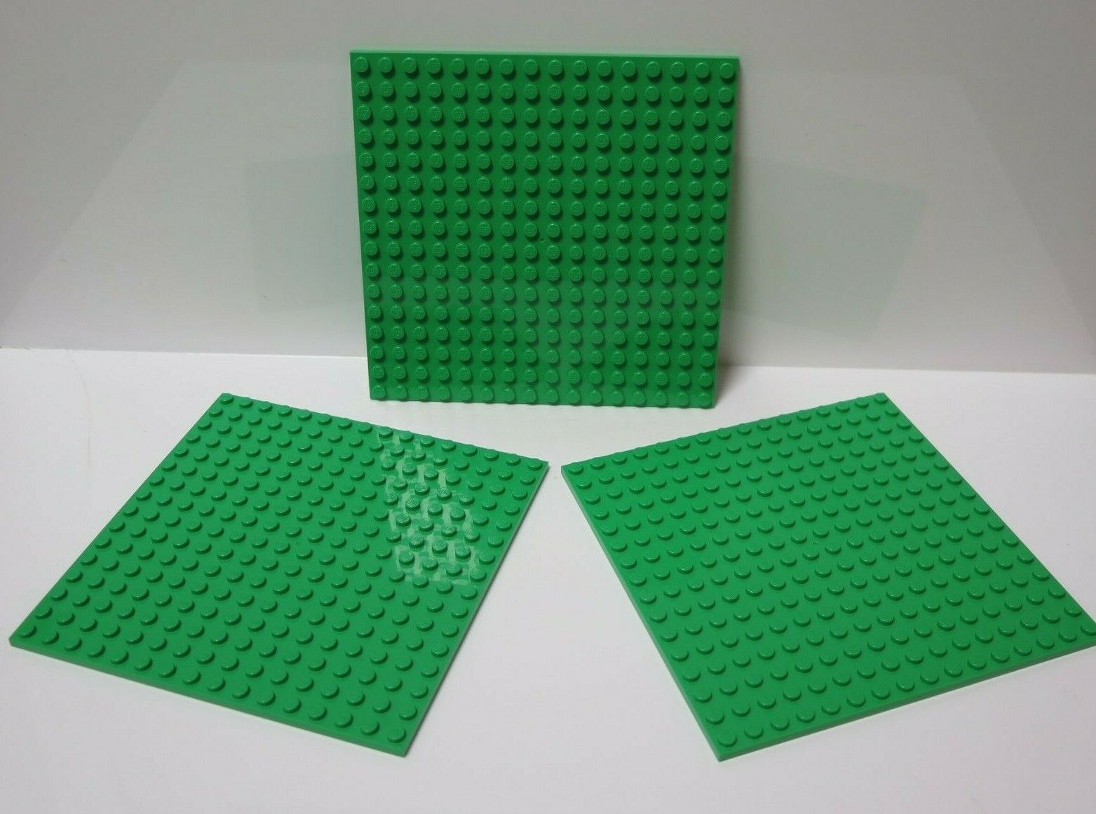 Lego 5 New Green Plates 1 x 3 Dot Pieces Parts