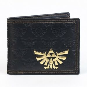 Official-Nintendo-THE-LEGEND-OF-ZELDA-MEN-039-S-WALLET-Twilight-Princess-Triforce