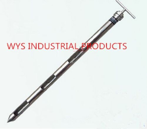 Stainless steel layered grain powder solid sampler zones probe slot thief 316L