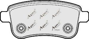 1x-OE-Quality-Brand-New-Apec-Brake-Pad-Set-PAD1689-12-Month-Warranty