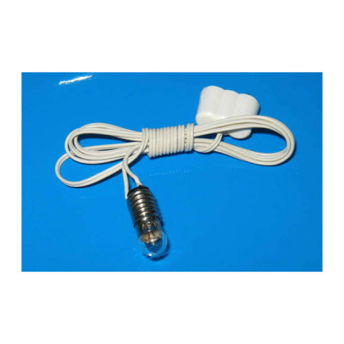 5 Cable # Kahlert 60804 Lighting E5 3,5V Connector for doll house NEW