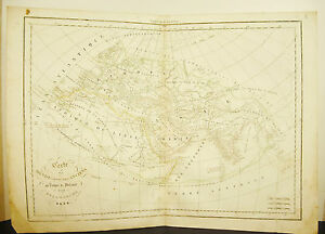 World-Known-Of-Antique-Under-Ptolemes-Card-1838-Ancient-Map-17-11-16in-15in