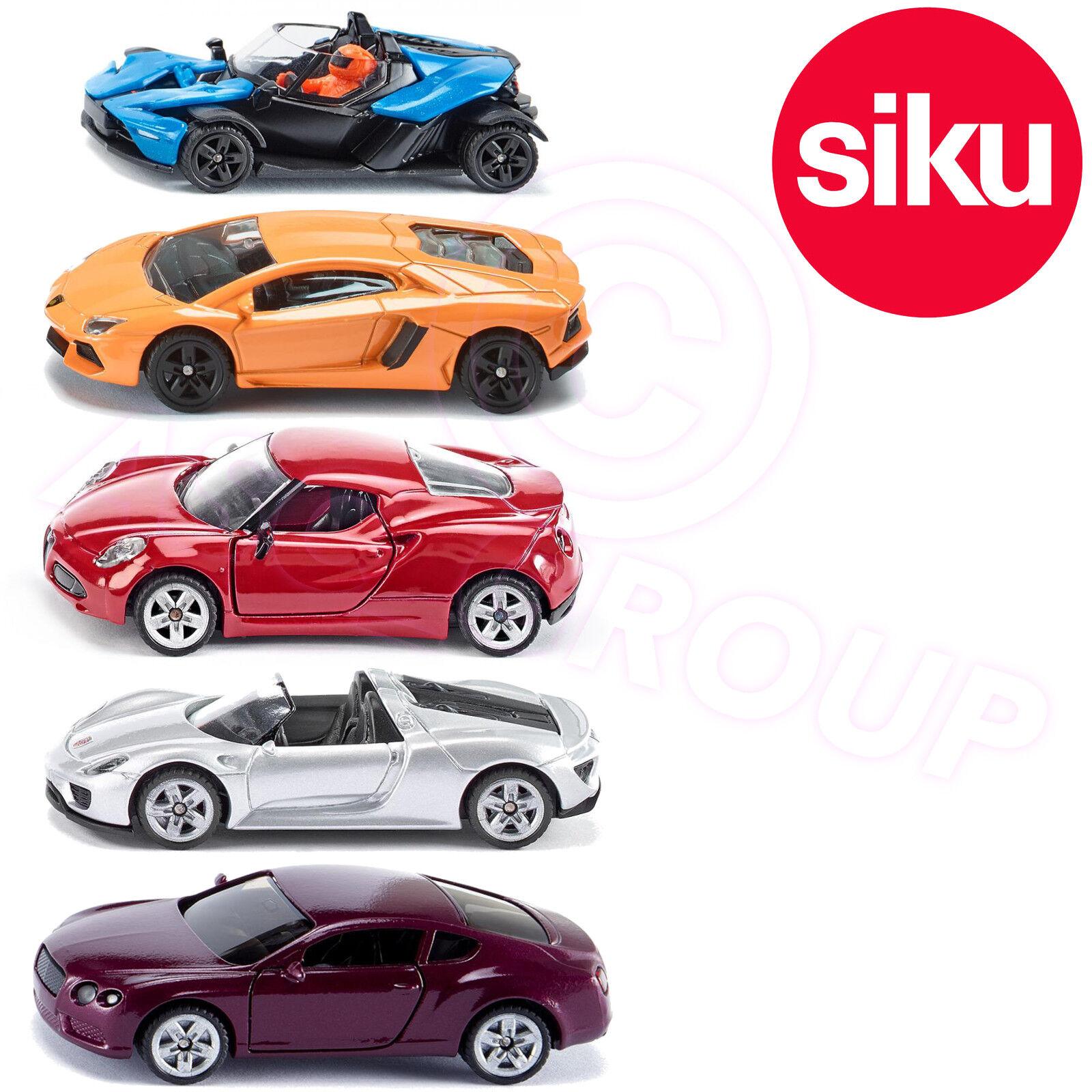 Siku Sportswagen Geschenkbox X Aventador 4c 918 Spinne Spinne Spinne Continental Gt 1 87 b9cffc