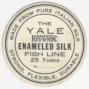 Vintage-Yale-Rev-O-Noc-Enameled-Silk-Fishing-Line-Card-Label