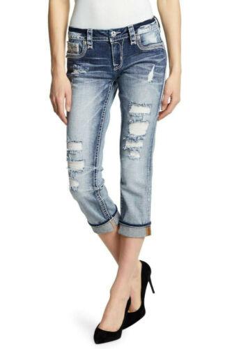 CapriSchön VerziertEasy Größe Rock 32 Revival Damen Jeans H29WEDIY