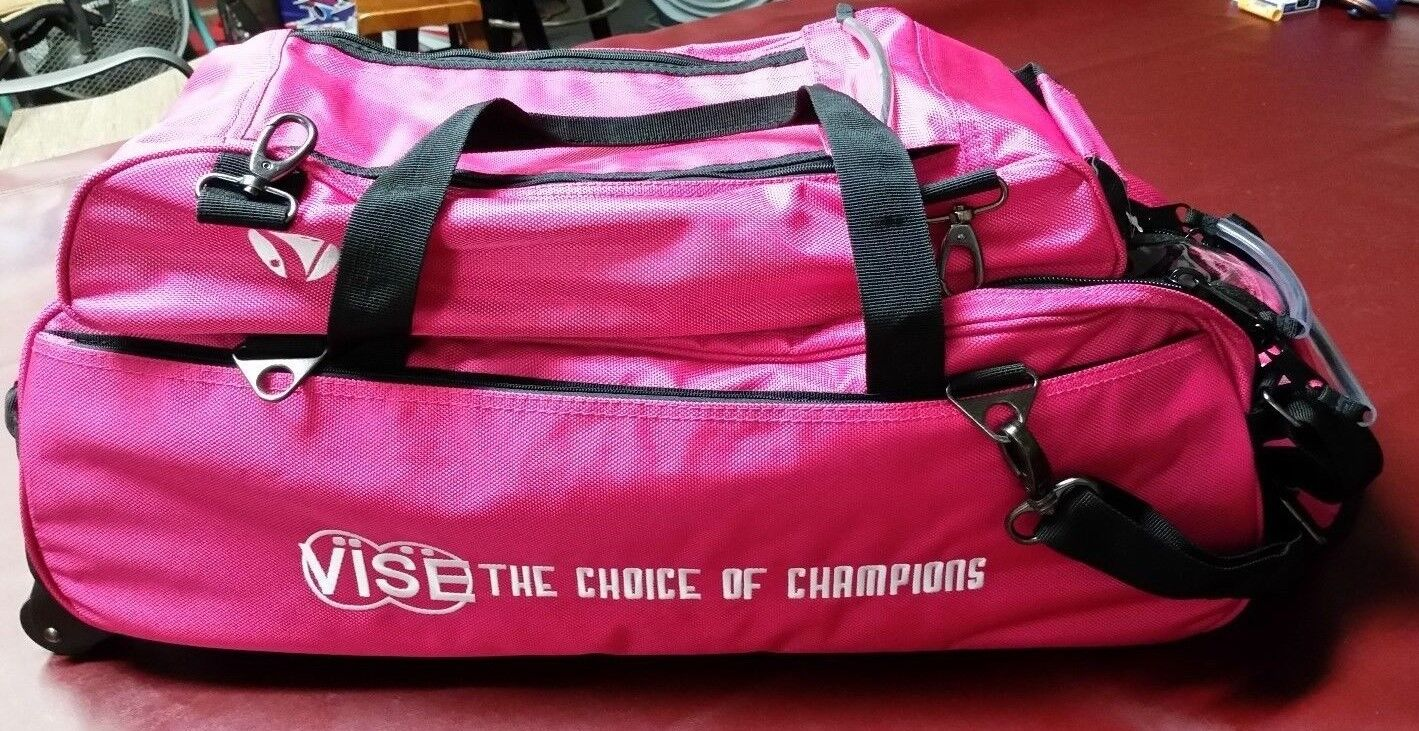 Vise 3 Ball Bowling Bag with shoes Bag