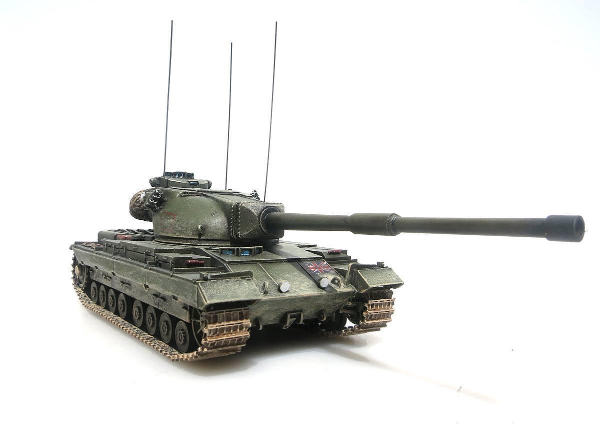 Panzerstahl Exclusive 1 72 British FV214 Conqueror Tank Rhin Allemagne 1959 89009