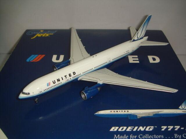 Gemini Jets 400 United Airlines UA B777-200  2004s Tulip color  1 400