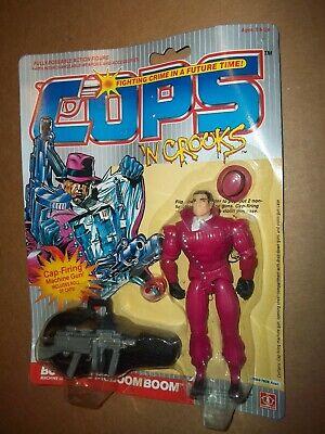 CHOOSE Hasbro Vintage 1988 Cops /'N Crooks Action Figures Combine Shipping!