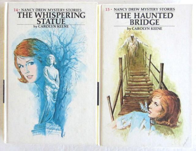 Nancy Drew Lot The Whispering Statue Haunted Bridge Carolyn Keene PC
