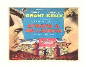 Programme-Spanish-Hand-Au-Collet-to-Catch-a-Thief-Grace-Kelly-Alfred-Hitchcock