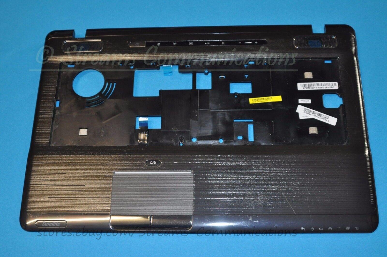 "TOSHIBA Satellite P770 P775 Series 17.3/"" Laptop Palmrest Touchpad K000123350"