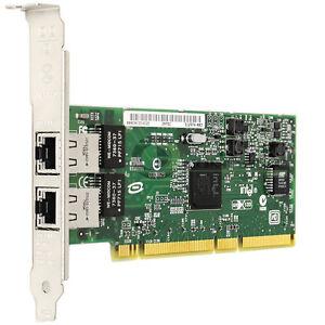 Details about Intel PRO/1000 Dual Port Gigabit Ethernet PCI-x Network  Adapter PWLA8492GT1P20