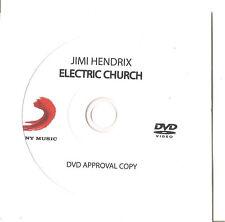 "Jimi Hendrix ""Electric Church"" Advance PROMO DVD RAR"