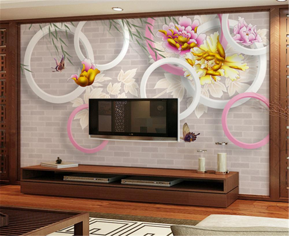 3D Farbe Flowers 834 Wallpaper Mural Paper Wall Print Wallpaper Murals UK Carly