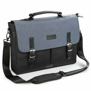 Inateck 14 Inch Water Resistant Messenger Bag Laptop Bag For Apple MacBook