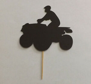 Lot of 12 ATV Cupcake Toppers!