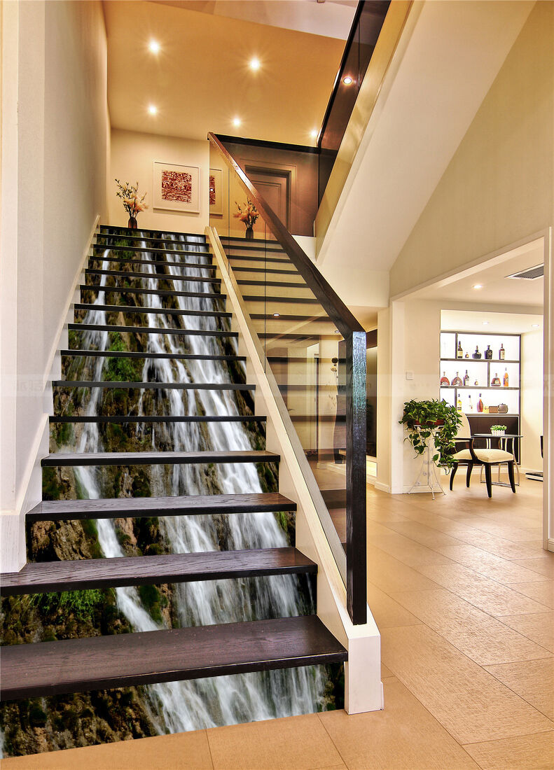 3D Landscape 3655 Stair Risers Decoration Photo Mural Vinyl Decal Wallpaper UK