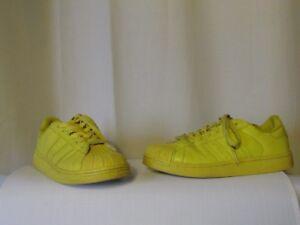 adidas jaune superstar