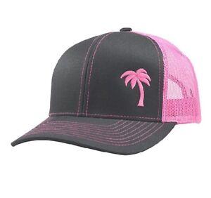 Lindo Trucker Hat Palm Tree