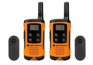 Motorola-TLKR-T41-500mw-4km-2-Way-Radio-Walkie-Talkie