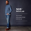 Men-039-s-Levi-039-s-505-Regular-Fit-Jean-100-Cotton-All-Sizes-MSRP-59 thumbnail 11
