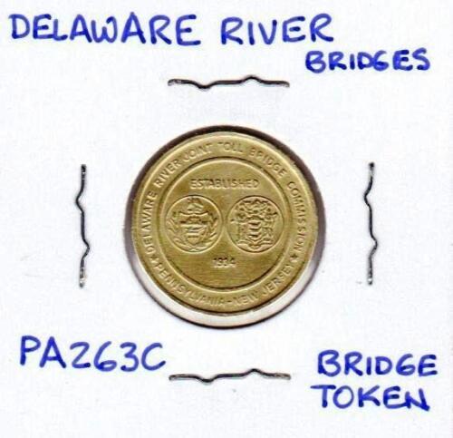 PA263C Delaware River Bridges Bridge Passage Token
