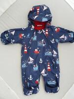 JOJO MAMAN BEBE Waterproof Fleece Lined All In One 0-3m SNOWSUIT Next Winter