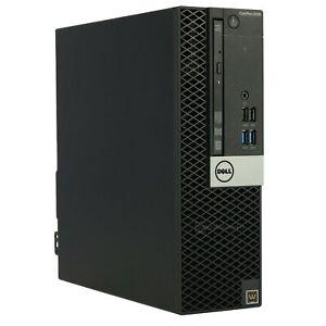 Dell Optiplex 5055 SFF amd ryzen 5 1500X 3,7GHz 8GB ram, 512GB SSD nvidia GT710