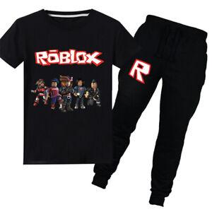 2020 Roblox Boy Girls Summer Short Sleeve Cartoon Top T Shirt