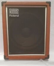 Vintage 1980s Orange Roland Cube-60 Bass Amplifier